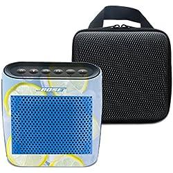 3C de Life pour Bose SoundLink couleur Haut-parleur Bluetooth sans fil souple Jeu de portage Espace de stockage de sac de cas et beau Impression Peau autocollants BOSE Color Farbe 7