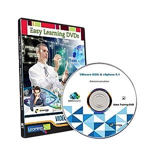 Easy Learning VMware ESXi & vSphere 5.1 Administration Video Training Tutorial (DVD)