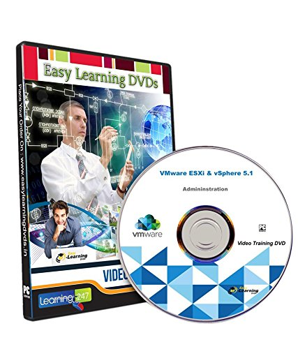Easy Learning VMware ESXi & vSphere 5.1 Administration Video Training Tutorial (DVD)