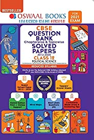 Oswaal CBSE Question Bank Class 12 Political Science Chapterwise & Topicwise Solved Papers (Reduced Syllab