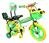 #8: NY Bikes Steel Bottle 14T Kids' Bicycle, 14 Inches (Green and Yellow)