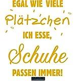 CLICKANDPRINT  Aufkleber » Schuhe passen Immer!, 130x113,0cm, Signalgelb • Dekoaufkleber/Autoaufkleber/Sticker/Decal/Vinyl