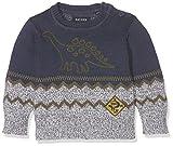 BLUE SEVEN Baby - Jungen Pullover 987017 X *, Einfarbig, Gr. 86, Blau (DK BLAU 571)