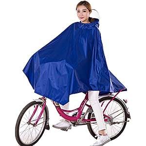 poncho de pluie v lo femme par hiveseen cape de protection pluie imperm able avec capuche. Black Bedroom Furniture Sets. Home Design Ideas