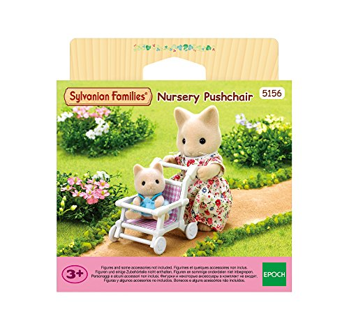 SYLVANIAN FAMILIES- Nursery Pushchair Mini muñecas