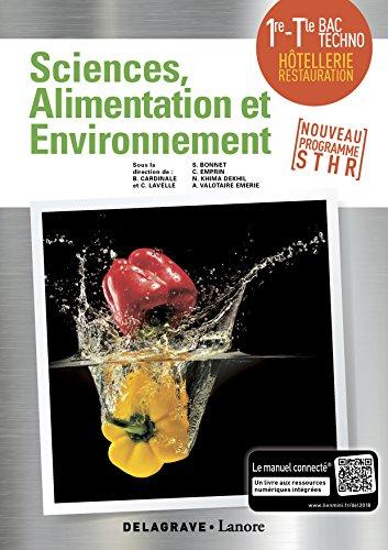 Enseignement scientifique alimentation-environnement 1re Tle STHR