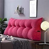 Corn Velvet sofa rugleuningkussen driedimensionaal nachtkastje gewatteerde wig groot driehoekig kussen sofa map dubbel Tatami hoofdeinde kussen