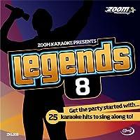 Zoom Karaoke CD+G - Legends Volume 8 - Beatles/Rolling Stones/Small Faces/Animals/Troggs [Card Wallet] - Beatles Faces