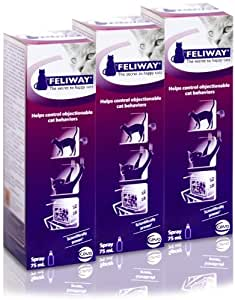 3 PACK Feliway (225mL) Spray