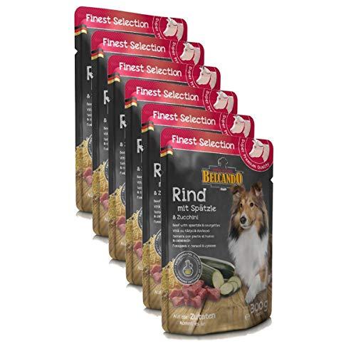 BELCANDO Rind und Spätzle mit Zucchini 6 x 300g