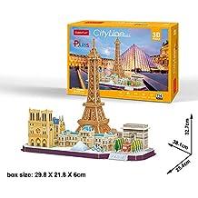 Cubic Fun - Puzzle 3D de la Ciudad de París en Línea (771MC254)