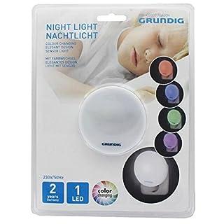 1 LED Nachtlicht, das Orientierungslicht mit dem Farbwechsel, extra flaches Design