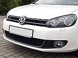 Waben- Gitter- Kühler- Sport- Front- Rippen- Grill ohne Emblem Schwarz TÜV FREI