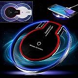 Fone-Case Black Acer Liquid M220 (Pack) Qi Chargeur Sans Fil Induction LED Station de Recharge Wireless Induction Chargeur Pad et Chargeur Récepteur de Charge Induction Qi sans fil Réception Rapide Universelle