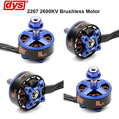 4pcs DYS Brushless Motor 2306 2800KV 3-4S for RC Drone FPV Racing ( Samguk Series Shu )