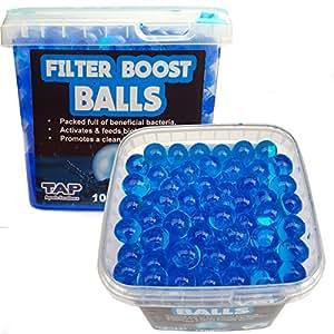 Pond Filter Boost Balls Filter Quick Start Beneficial