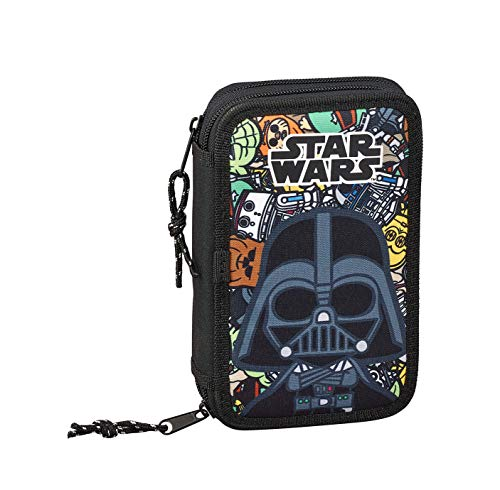 Star Wars Galaxy Oficial Estuche Escolar Incluye 28