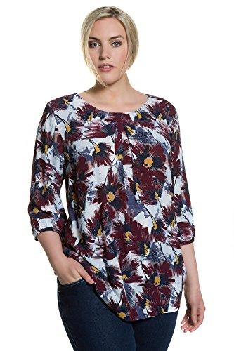 Ulla Popken Femme Grandes tailles Tunique 706254 multioclore