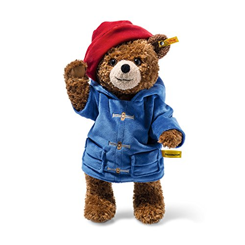 Plush Paddington Bear by Steiff - officially licensed jointed teddy - 38cm