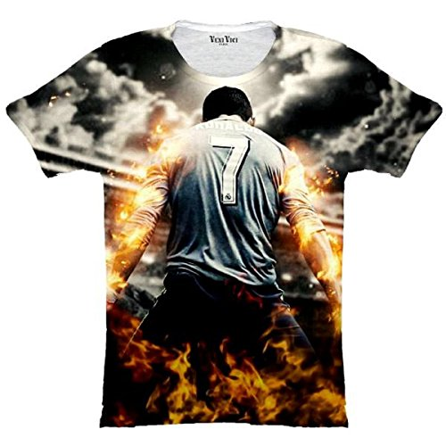 Veni Vici T-Shirt CR7 Cristiano Ronaldo - Bunt - S -