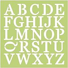 Kaisercraft Plantilla de diseño de Letras mayúsculas, ...