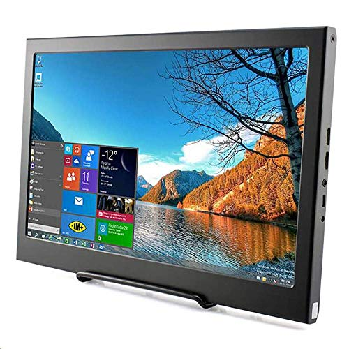 Monitor Display IPS Bildschirm-13,3 Zoll LED Kleine tragbare 1920*1080p Monitor mit HDMI-Eingang für Raspberry Pi 3B 2B B + PC CCTV-Kamera Auto DSLR-Rückfahrkamera Xbox 360 Windows 7/8/10 Elecrow 13.3 Display