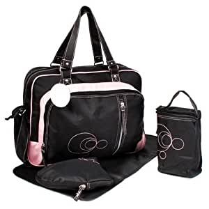 Baby Kingdom Thermo Sac à langer 4 pièces Rose