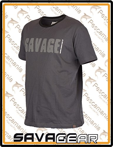Hemden & T-Shirts Savage Gear Simply Savage Tee Angel T-shirt Shirt Angelbekleidung L