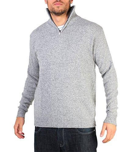 7788-grey-xxl-half-zip-pullover