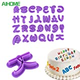 26PCS Mickey Mouse font alphabet Cookie cutter number Letter set torta strumento fondente