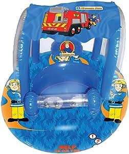 Bou e pour b b avec parasol officielle de fireman sam sam le pompier marchandise certifi e - Bateau sam le pompier ...