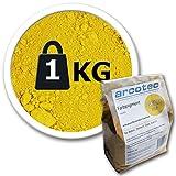 @tec Eisenoxid Pigmentpulver für Beton, Oxidfarbe - 1kg Farbpigmente Trockenfarbe für Zemenz,...