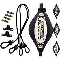 RDX Doble End Velocidad Bola MMA Peras Boxeo pera Rapida Speed Bag Gimnasio Entrenamiento