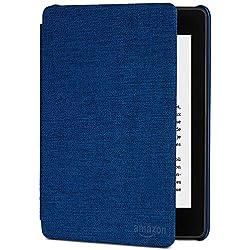 Étui en tissu protégeant de l'eau pour Kindle Paperwhite (10ème génération - modèle 2018), Bleu