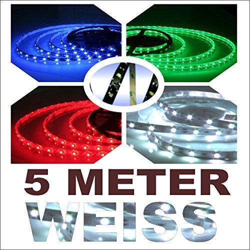 Akhan TL5000W - LED Leiste Streifen Strips 5 METER Weiss
