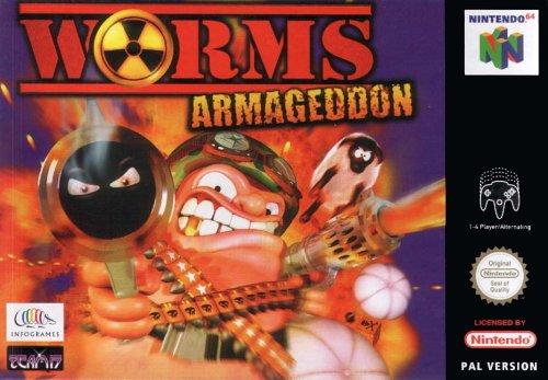 Gebraucht, Worms Armageddon - Nintendo 64 - PAL gebraucht kaufen  Wird an jeden Ort in Deutschland