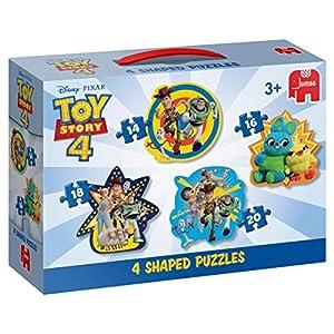 Disney ToyStory 4-4in1 - Rompecabezas (Rompecabezas de Figuras, Dibujos, Preescolar, Niño/niña, 3 año(s), Interior)