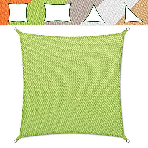 Sonnensegel Casa Pura® in verschiedenen Farben | Material wasserdicht–maschinenwaschbar | Größe 3x 3m | Dichte 160g pro m²