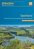 Wanderführer Sauerland: Die schönsten Touren im abwechslungsreichen Sauerland (Hikeline /Wanderführer)