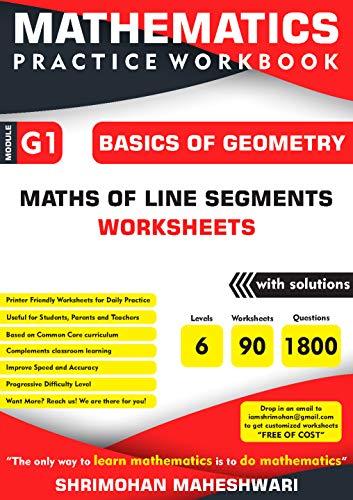 Mathematics Practice Workbook: Basics of Geometry - Maths of