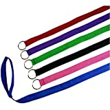 Downtown Pet Supply 6 Foot Slip Lead, Slip Leads, Kennel Leads with O Ring for Dog Pet Animal Control Grooming, Shelter, Rescues, Vet, Veterinarian, Doggy Daycare (12 Pack, Colors: Various) By