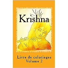 Krishna: Livre de coloriages