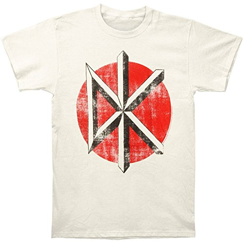 Dead Kennedys Distressed Logo Fitted Jersey T-Shirt -