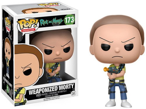 funko pop rick and morty FunKo 12440 Actionfigur Rick Weaponized Morty