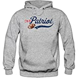 I'm a Patriot 01 Hoody |Football Hoodies | Super Bowl | Kapuzenpullover, Farbe:Graumeliert;Größe:XXL