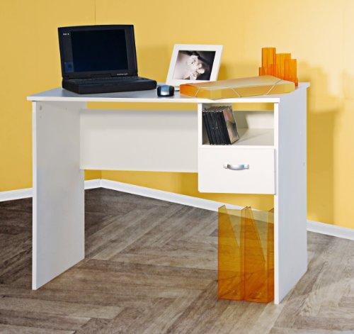 8049-2 - Schülerschreibtisch / Computertisch / PC-Tisch / mehrere Farben (weiß)