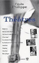 Théâtres : Ruptures, Qui est cette femme ?, Dis leur, C'est trop, La mémoire longue, Le bonheur va bien, Audition, Zapping, Non-lieu, Bavardages