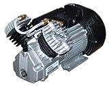 Kompressor Aggregat Verdichter, 1 stufig, 2 Zylinder, 2,2 KW, 375 Liter, für Kessel 50-100 Liter geeignet