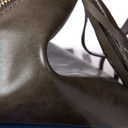 Frauen-Handtaschen-Minidreieck Dumpling-Beutel-Münzen-Geldbeutel Brown