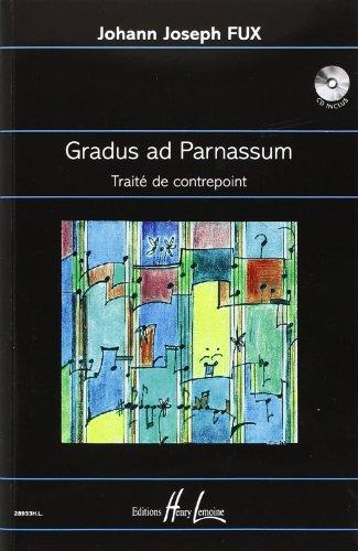 Gradus ad Parnassum - Traité de contrepoint + CD par Fux Johann Joseph